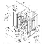 GE GHDT168V00SS body parts diagram