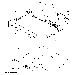 GE JT3500DF2WW center spacer diagram
