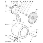 Hotpoint HTDX100GD3WW drum diagram