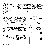 GE ZFSB25DXCSS evaporator instructions diagram