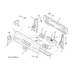 GE JBS55DM1BB control panel diagram