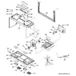 Hotpoint RVM5160DH1CC interior parts diagram