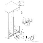 GE GSS20ETHCBB fresh food section diagram