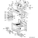 GE PSB9120DF1BB interior parts (2) diagram