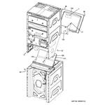 GE GTUP240EM0WW cabinet (3) diagram