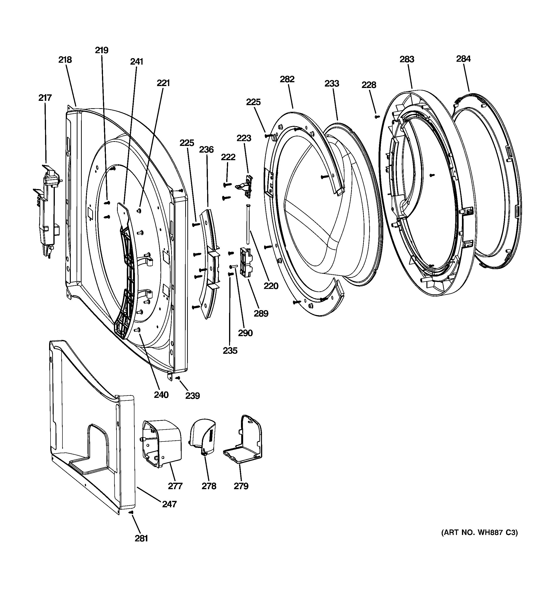 Remarkable Diagram Ge Washer Parts Ge Front Load Washer Parts Diagram Ge Washer Wiring Cloud Staixuggs Outletorg