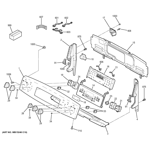 GE PB950SF4SS control panel diagram