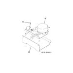 GE ZDP486LRP5SS door lock diagram
