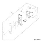 GE PNM9216SK1SS control parts diagram