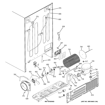 GE CZS22MSKEHSS machine compartment diagram