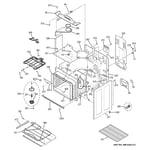 GE PHB920SJ2SS body parts diagram