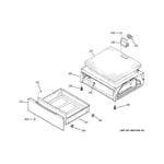 GE PHB920SJ2SS warming drawer diagram