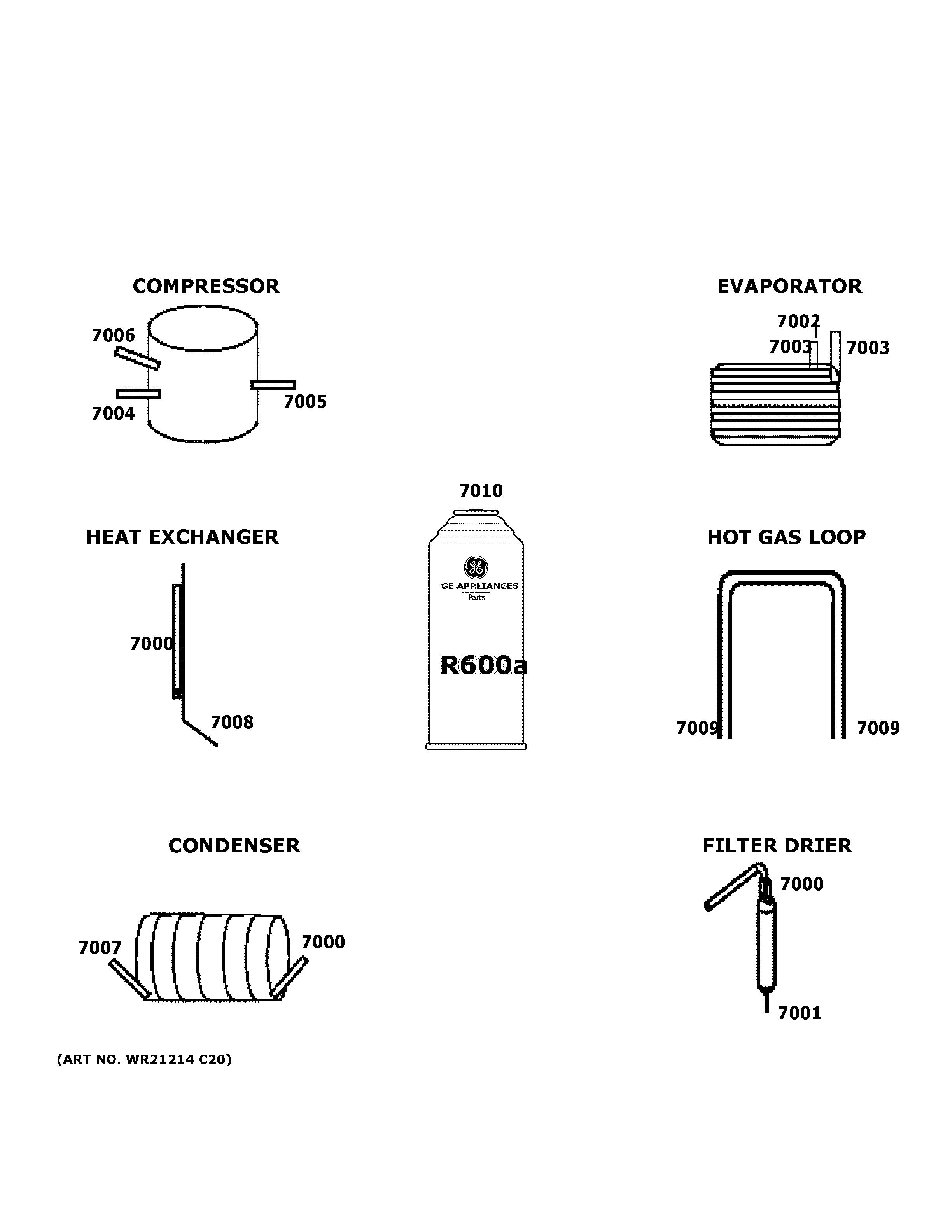 Ge  Bottom_mount_refrigerator  Lokring connectors