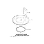 GE JES1246BH03 microwave diagram
