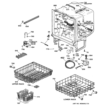 GE EDW1500J00BB body parts diagram