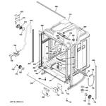 GE PDW9800J00BB body parts diagram