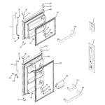 GE GTH18DCRVLCC doors diagram