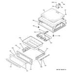 GE JCBP81WL2WW warming drawer diagram