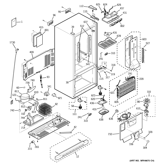 GE PDS22SBSALSS cabinet diagram