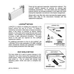 GE GTS22KCPCRCC evaporator instructions diagram