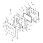 GE JBP84TM1WW door diagram
