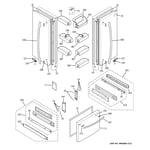 GE PFS22MISBBB doors diagram