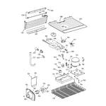 GE TBX16SABMRAA unit parts diagram