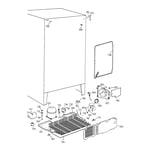 GE TFT22JABCAA unit parts diagram