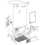 GE TFX25JPCCAA unit parts diagram