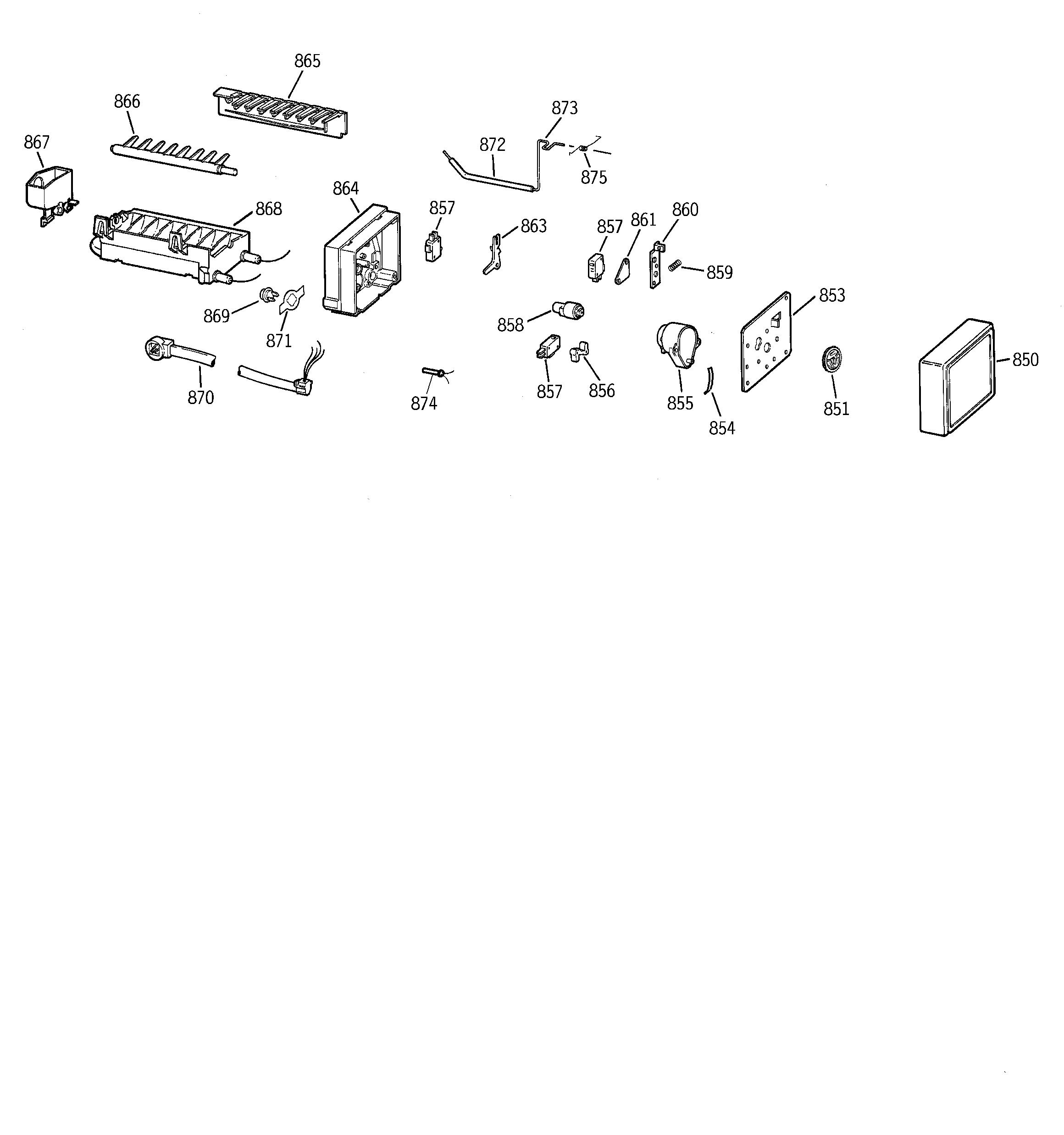 Ge  Refrigerator B Series  Icemaker wr30x0330