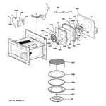 GE PSB1000NBB01 interior parts (1) diagram