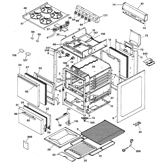 Hotpoint RGA520EW3 range parts diagram