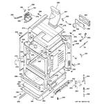 Hotpoint RGB746WEH3WW body parts diagram