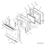 GE JBP66WK2WW door diagram