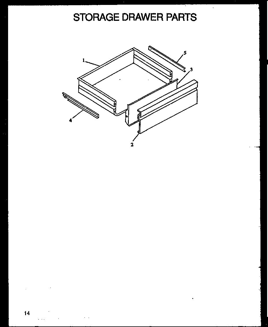 Modern Maid  Downdraft Electric Range   Parts