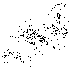 Amana SQD22NL-P1181301WL ice and water dispenser diagram