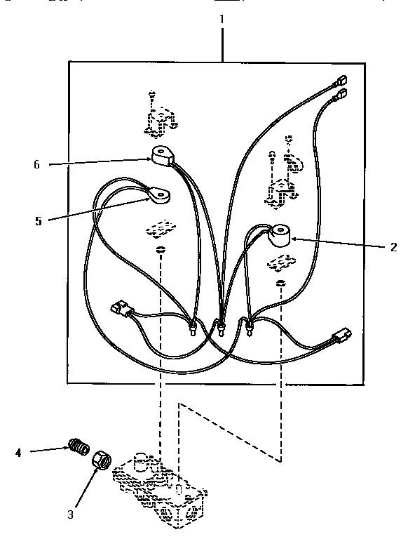Speed Queen HG4080 56225 gas valve assembly diagram