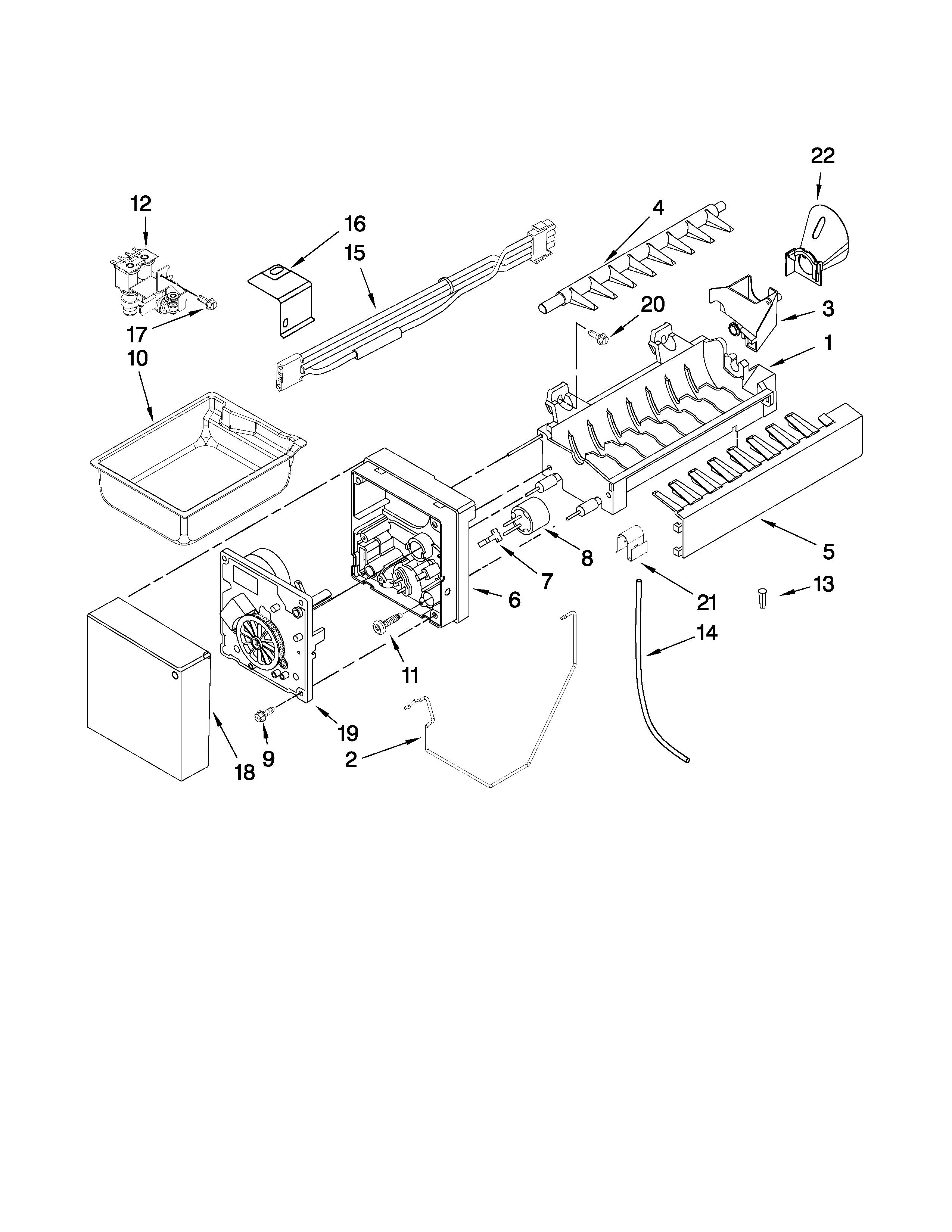 Kenmore Elite  Refrigerator  Icemaker parts