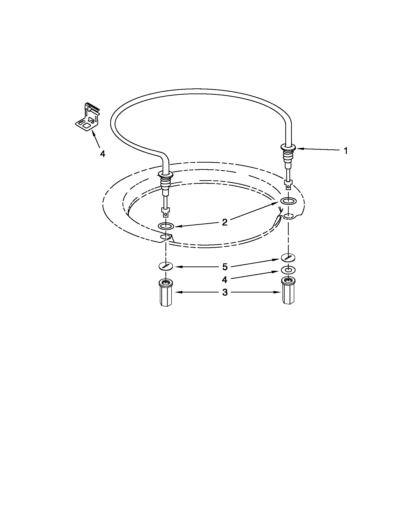 Kenmore 66513039K111 heater parts diagram