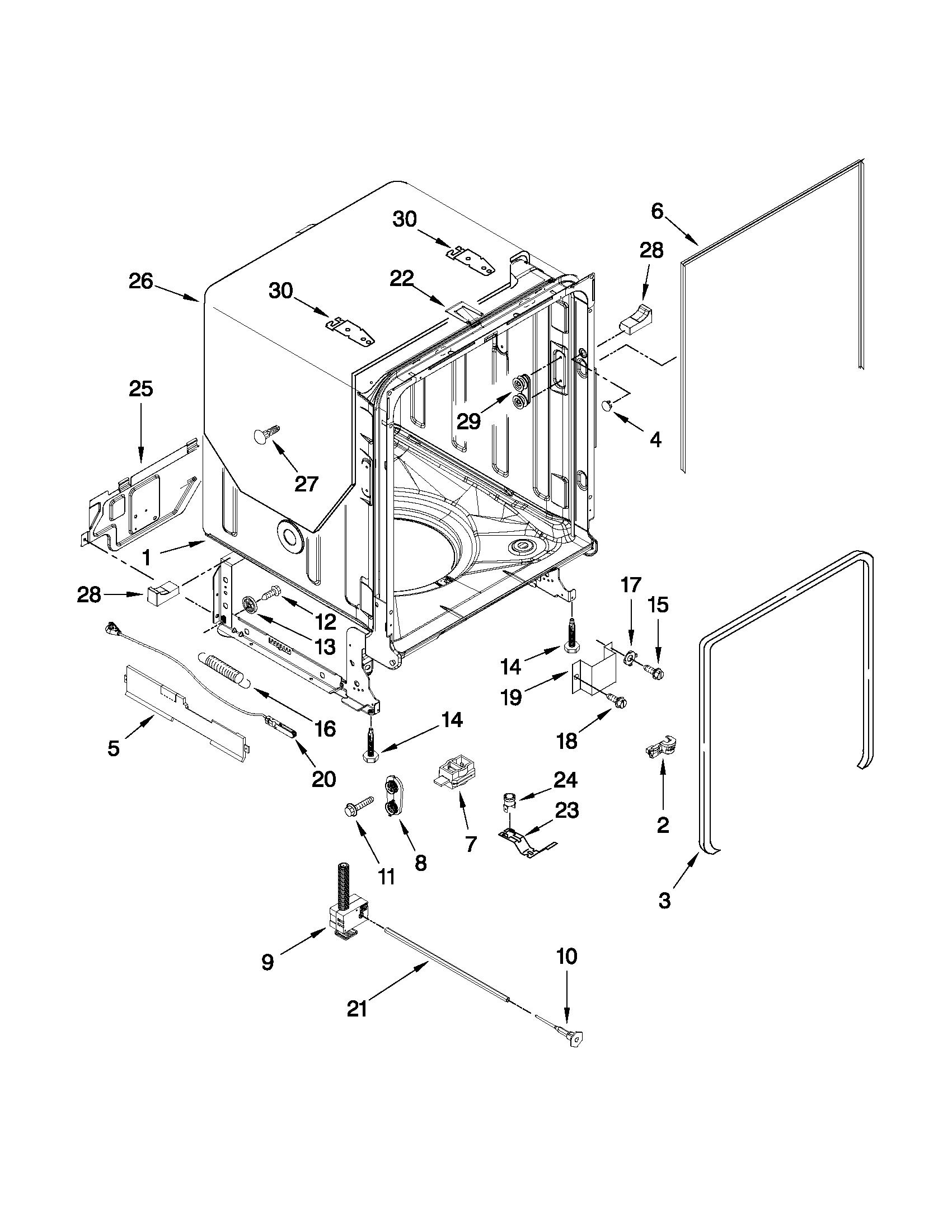 Sears Dishwasher Wiring Diagram Diagrams Frigidaire Schematic P N 665 13969k010 66513593k600 Kenmore Pdf Whirlpool