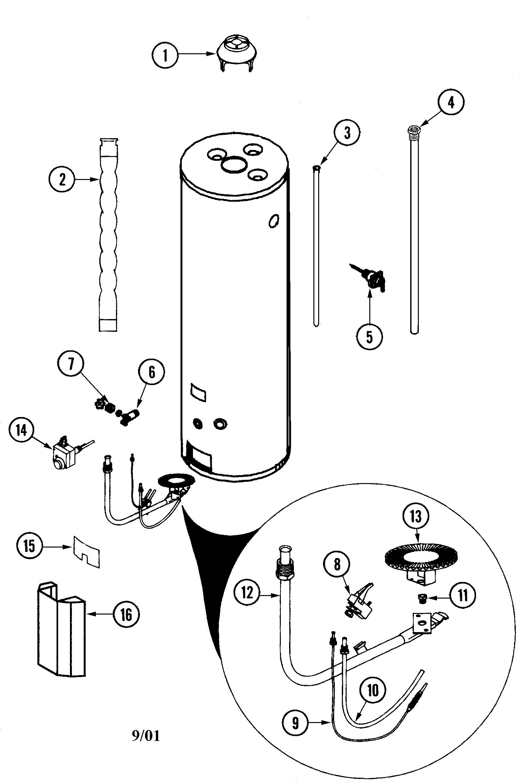 Maytag  Maytag Water Heater  Body