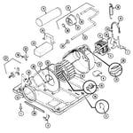 Jenn-Air JDG3000A motor & drive diagram