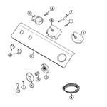 Maytag LAT9206BAE control panel diagram