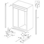 Maytag AS229FSBGB cabinet diagram