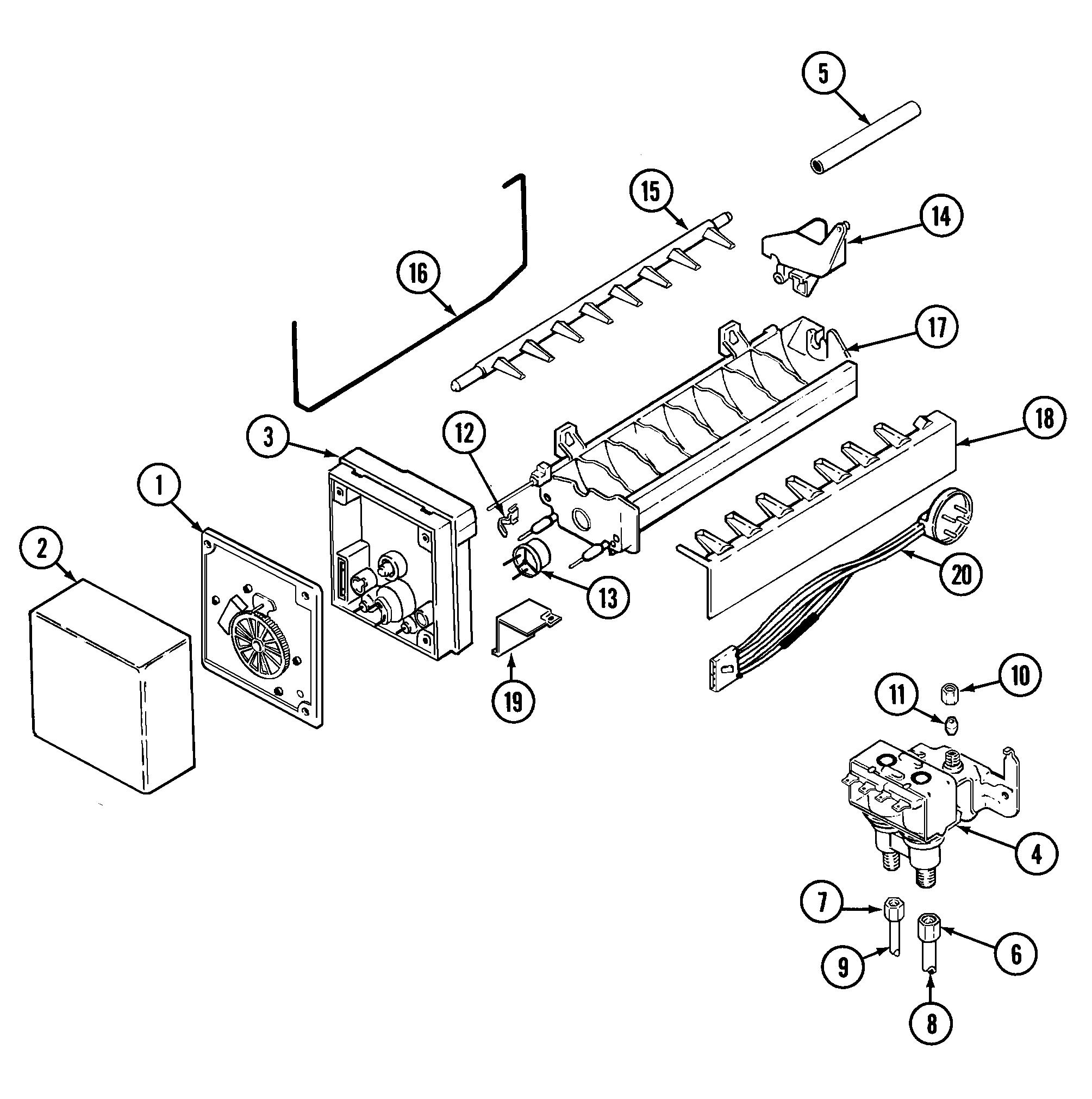maytag model gs22b6c3ev side by side refrigerator genuine parts Modle a Ford V8 Ad