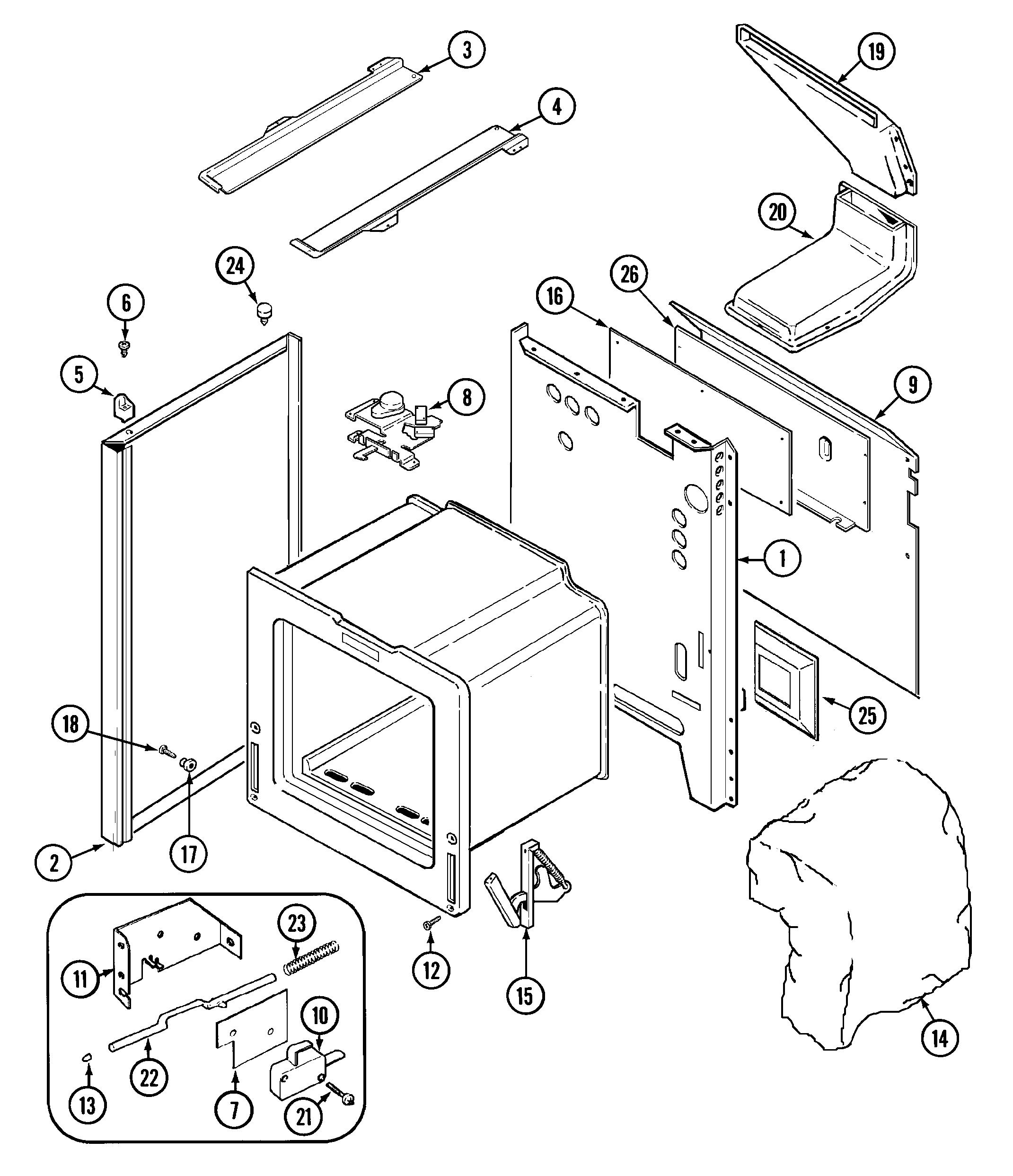 Jenn-Air  Range  Body