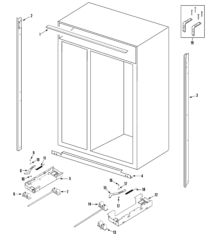 Jenn-Air  Built-In Refrigerator  Cabinet