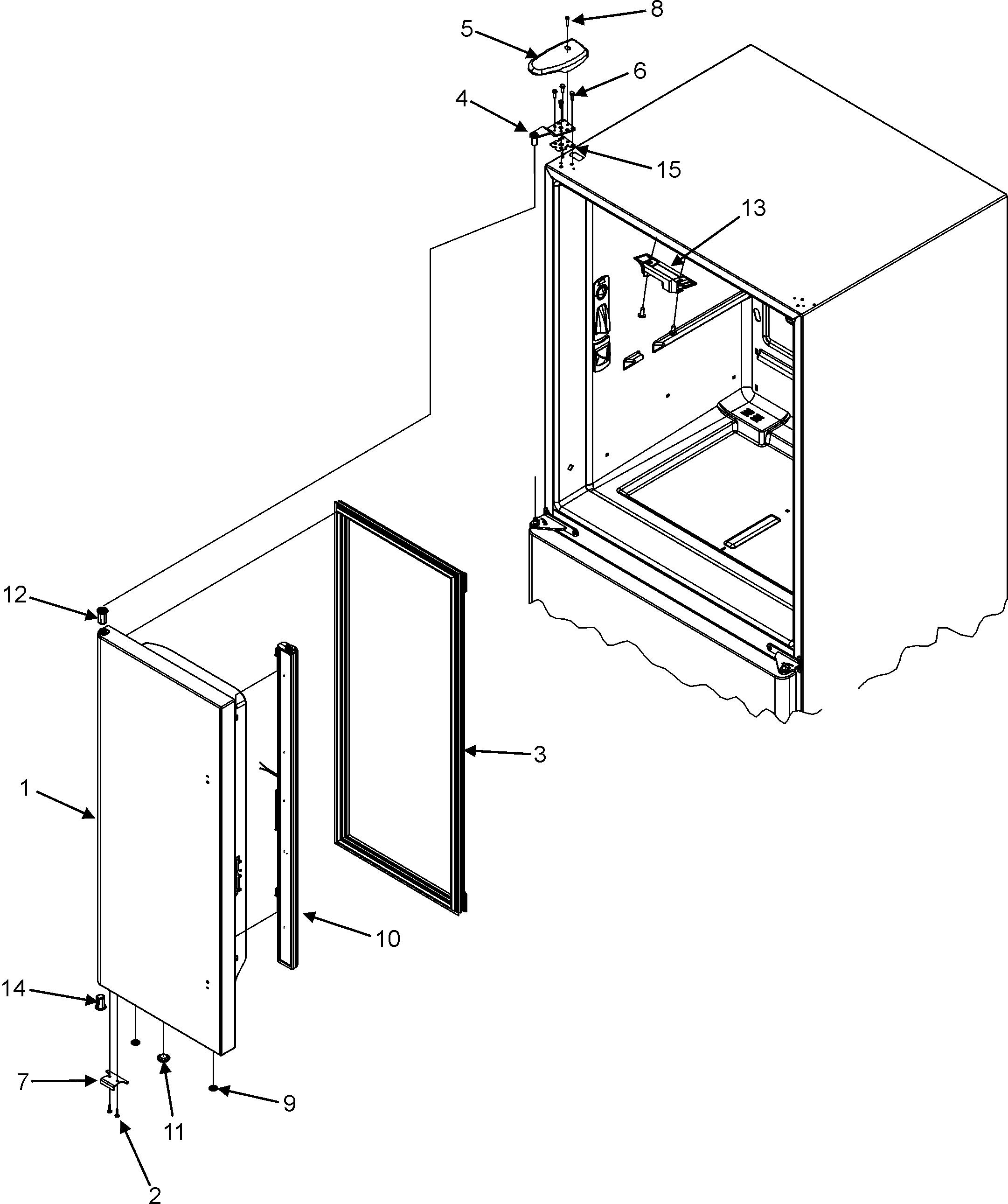 Maytag  Maytag Refrigeration  Left refrigerator door