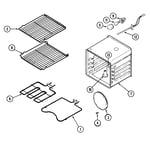 Maytag CWE7800ACB oven diagram