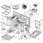 Jenn-Air JMV8208AAS cavity diagram